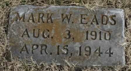 EADS, MARK W - Labette County, Kansas   MARK W EADS - Kansas Gravestone Photos
