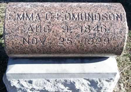 EDMUNDSON, EMMA CAROLINE - Labette County, Kansas | EMMA CAROLINE EDMUNDSON - Kansas Gravestone Photos