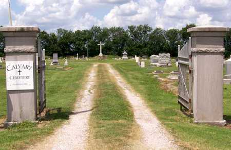*ENTRANCE/DIRECTIONS, CALVARY CEMETERY - Labette County, Kansas | CALVARY CEMETERY *ENTRANCE/DIRECTIONS - Kansas Gravestone Photos