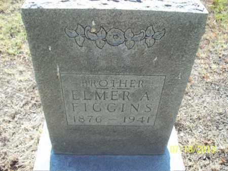 FIGGINS, ELMER A - Labette County, Kansas | ELMER A FIGGINS - Kansas Gravestone Photos