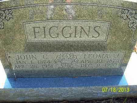 FIGGINS, LEOMA J - Labette County, Kansas | LEOMA J FIGGINS - Kansas Gravestone Photos