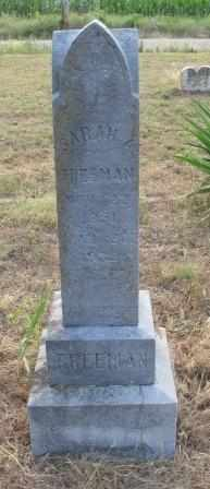FREEMAN, SARAH ANN - Labette County, Kansas   SARAH ANN FREEMAN - Kansas Gravestone Photos