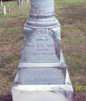 FROMAN, S  B  - Labette County, Kansas | S  B  FROMAN - Kansas Gravestone Photos