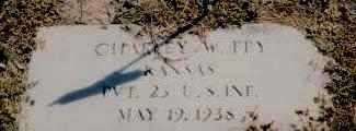FRY, CHARLES WESLEY  (VETERAN SAW) - Labette County, Kansas | CHARLES WESLEY  (VETERAN SAW) FRY - Kansas Gravestone Photos