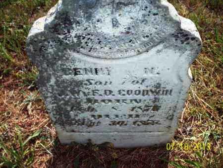 GOODWIN, BENNY N - Labette County, Kansas | BENNY N GOODWIN - Kansas Gravestone Photos