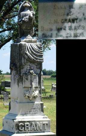 GRANT, ANNA M - Labette County, Kansas   ANNA M GRANT - Kansas Gravestone Photos