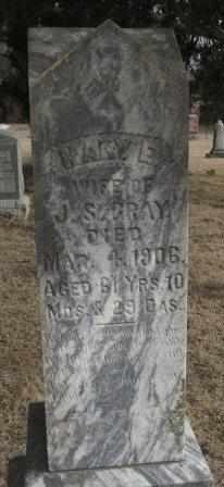 GRAY, MARY E - Labette County, Kansas   MARY E GRAY - Kansas Gravestone Photos