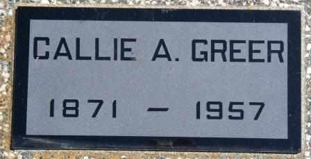 BICKHAM GREER, CAROLINE ALMA - Labette County, Kansas | CAROLINE ALMA BICKHAM GREER - Kansas Gravestone Photos