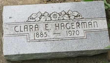 HAGERMAN, CLARA E - Labette County, Kansas | CLARA E HAGERMAN - Kansas Gravestone Photos