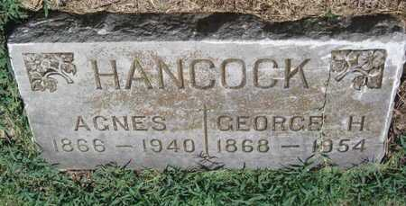 HANCOCK, GEORGE H - Labette County, Kansas | GEORGE H HANCOCK - Kansas Gravestone Photos