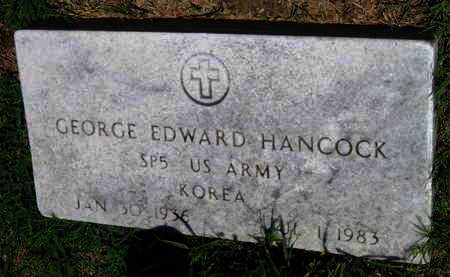 HANCOCK, GEORGE EDWARD  (VETERAN KOR) - Labette County, Kansas | GEORGE EDWARD  (VETERAN KOR) HANCOCK - Kansas Gravestone Photos
