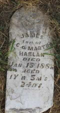 HARLAN, JAMES - Labette County, Kansas | JAMES HARLAN - Kansas Gravestone Photos