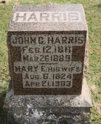 HARRIS, JOHN CABROL - Labette County, Kansas | JOHN CABROL HARRIS - Kansas Gravestone Photos