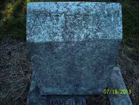 HAVERTON, CLAUDE - Labette County, Kansas | CLAUDE HAVERTON - Kansas Gravestone Photos