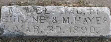 HAYES, MABEL - Labette County, Kansas   MABEL HAYES - Kansas Gravestone Photos