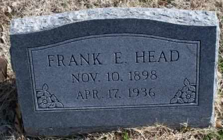 HEAD, FRANK EMIL - Labette County, Kansas | FRANK EMIL HEAD - Kansas Gravestone Photos