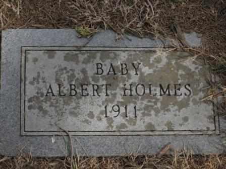 HOLMES, ALBERT - Labette County, Kansas | ALBERT HOLMES - Kansas Gravestone Photos