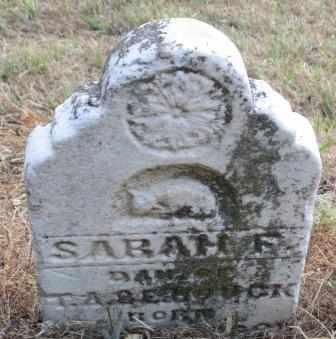 HOUCK, SARAH F - Labette County, Kansas   SARAH F HOUCK - Kansas Gravestone Photos