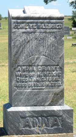 HOXIE, ANNA - Labette County, Kansas | ANNA HOXIE - Kansas Gravestone Photos