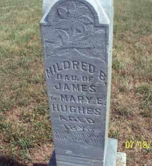 HUGHES, MILDRED B - Labette County, Kansas   MILDRED B HUGHES - Kansas Gravestone Photos