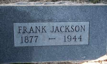 JACKSON, FRANK - Labette County, Kansas | FRANK JACKSON - Kansas Gravestone Photos