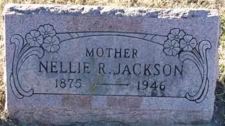 JACKSON, NELLIE R - Labette County, Kansas | NELLIE R JACKSON - Kansas Gravestone Photos