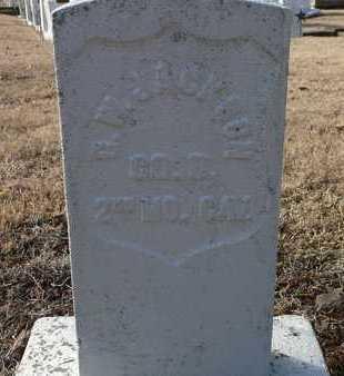 JACKSON, GEORGE W  (VETERAN UNION) - Labette County, Kansas   GEORGE W  (VETERAN UNION) JACKSON - Kansas Gravestone Photos