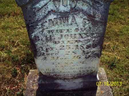 JOHNSON, EMMA P - Labette County, Kansas | EMMA P JOHNSON - Kansas Gravestone Photos