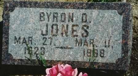 JONES, BYRON DAVID - Labette County, Kansas | BYRON DAVID JONES - Kansas Gravestone Photos