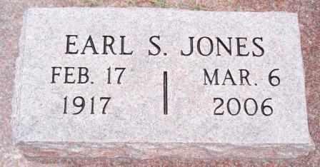 JONES, EARL STANLEY - Labette County, Kansas | EARL STANLEY JONES - Kansas Gravestone Photos
