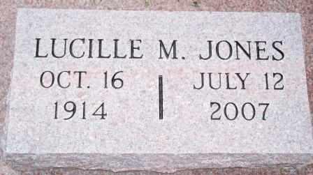 WARE JONES, EMMA LUCILLE MADGE - Labette County, Kansas   EMMA LUCILLE MADGE WARE JONES - Kansas Gravestone Photos