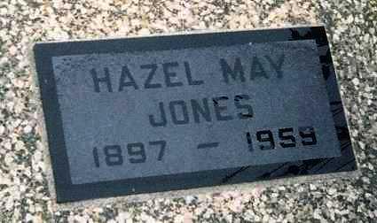 JONES, HAZEL MAY - Labette County, Kansas | HAZEL MAY JONES - Kansas Gravestone Photos