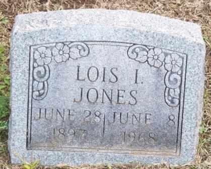 JONES, LOIS IRENE - Labette County, Kansas | LOIS IRENE JONES - Kansas Gravestone Photos