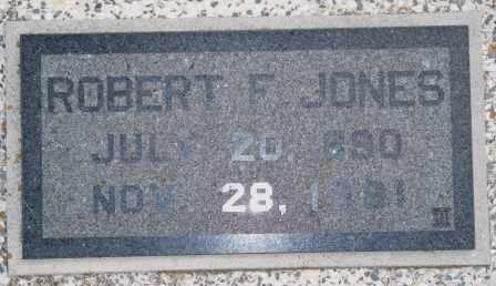 JONES, ROBERT FRANKLIN - Labette County, Kansas   ROBERT FRANKLIN JONES - Kansas Gravestone Photos