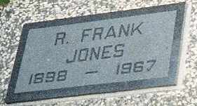 JONES, ROBERT FRANK - Labette County, Kansas   ROBERT FRANK JONES - Kansas Gravestone Photos