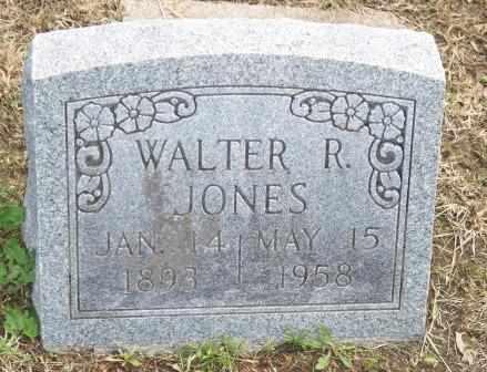 JONES, WALTER RAYMOND - Labette County, Kansas   WALTER RAYMOND JONES - Kansas Gravestone Photos