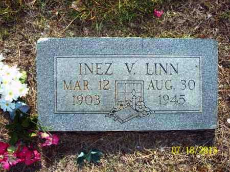 LINN, INEZ V - Labette County, Kansas | INEZ V LINN - Kansas Gravestone Photos