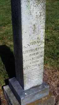 LIVINGSTON, AARON D - Labette County, Kansas | AARON D LIVINGSTON - Kansas Gravestone Photos