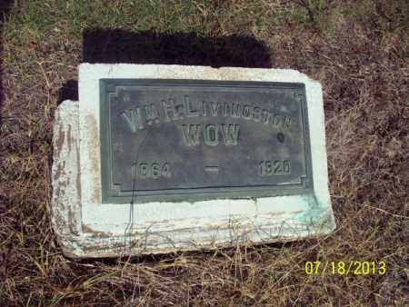 LIVINGSTON, WM  H - Labette County, Kansas | WM  H LIVINGSTON - Kansas Gravestone Photos