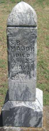 MAJOR, SIMS B - Labette County, Kansas   SIMS B MAJOR - Kansas Gravestone Photos