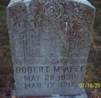 MCAFEE, ROBERT - Labette County, Kansas | ROBERT MCAFEE - Kansas Gravestone Photos
