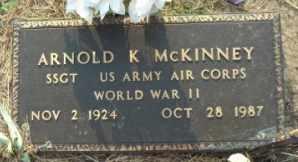 MCKINNEY, ARNOLD KEITH  (VETERAN WWII, POW) - Labette County, Kansas | ARNOLD KEITH  (VETERAN WWII, POW) MCKINNEY - Kansas Gravestone Photos