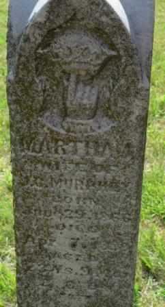 DAVIS MURPHY, MARTHA J - Labette County, Kansas | MARTHA J DAVIS MURPHY - Kansas Gravestone Photos