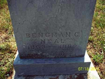 NEAL, BENGMAN C - Labette County, Kansas | BENGMAN C NEAL - Kansas Gravestone Photos