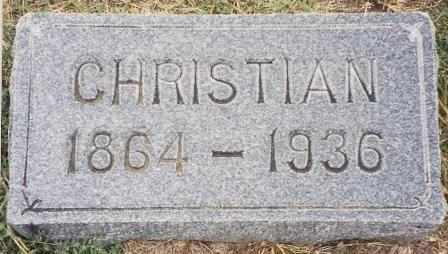 NICKEL, CHRISTIAN - Labette County, Kansas | CHRISTIAN NICKEL - Kansas Gravestone Photos