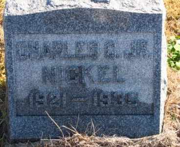 NICKEL , CHARLES CHRISTIAN, JR - Labette County, Kansas | CHARLES CHRISTIAN, JR NICKEL  - Kansas Gravestone Photos