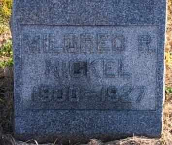 BENNETT NICKEL, MILDRED RACHEL - Labette County, Kansas | MILDRED RACHEL BENNETT NICKEL - Kansas Gravestone Photos