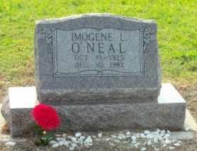 O'NEAL, IMOGENE LUCILLE - Labette County, Kansas | IMOGENE LUCILLE O'NEAL - Kansas Gravestone Photos