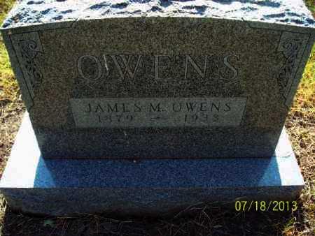 OWENS, JAMES M - Labette County, Kansas | JAMES M OWENS - Kansas Gravestone Photos