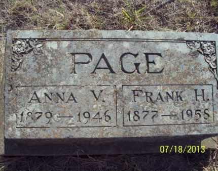 PAGE, FRANK H - Labette County, Kansas   FRANK H PAGE - Kansas Gravestone Photos